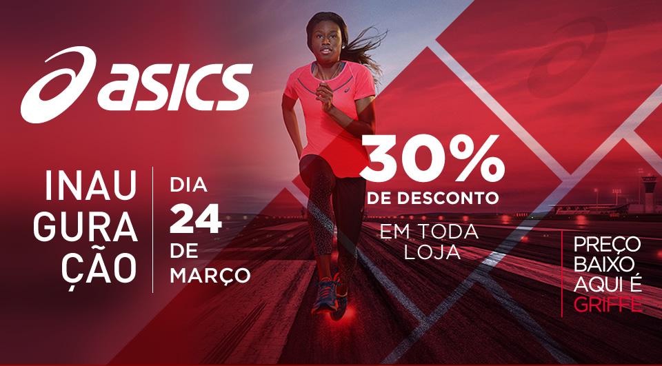 Inauguracao Asics