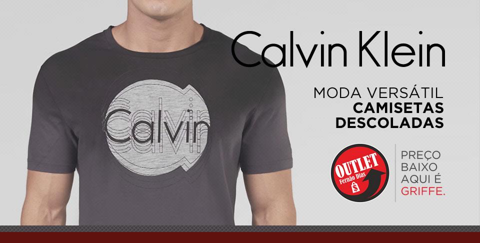 Outlet Calvin Klein - Outlet Fernão Dias